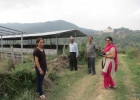 chairperson-of-nepal-chapter-of-hattiban-observing-the-chicken-shed
