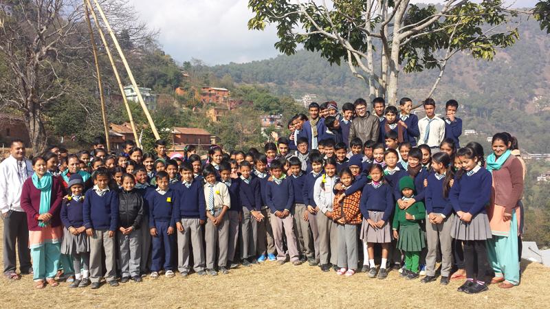 students-of-setidevi-secondary-school